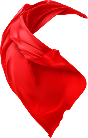 red cape badge